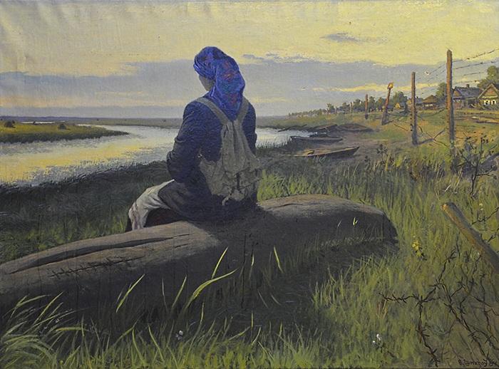 «Прощание». Художник: Виктор Шматов.