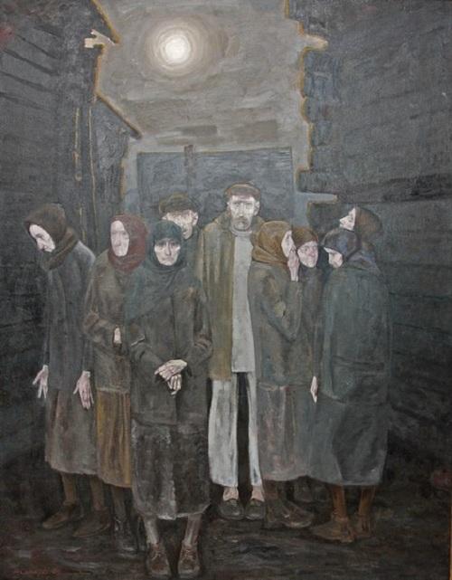 «Покинутые».Художник: Михаил Савицкий.