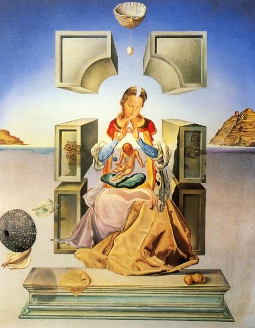 """""""Мадонна Порт-Льигата"""". (1949). Автор: Сальвадор Дали."""