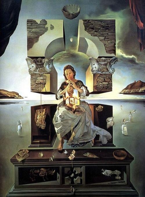 """Мадонна Порт-Льигата"". (1950). (Вторая версия). Автор: Сальвадор Дали."