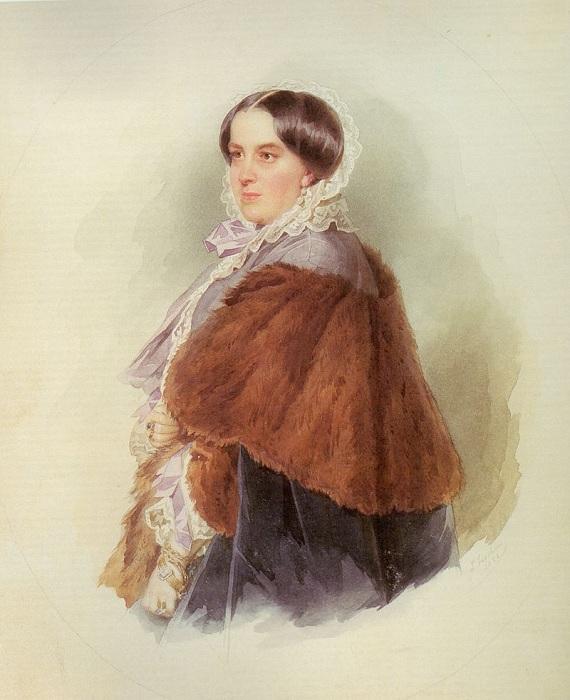 Варвара Репнина-Волконская.