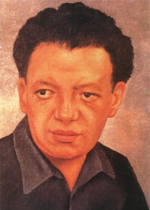 Диего Ривера. Автор: Фрида Кало