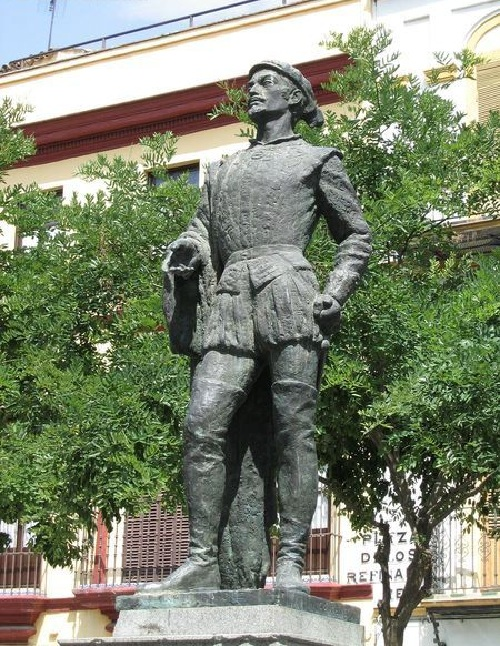 Памятник Дон Жуану в Севилье.   Фото: alandalus.ru.
