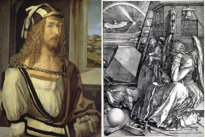 Альбрехт Дюрер - немецкий художник и его гравюра «Меланхолия I».