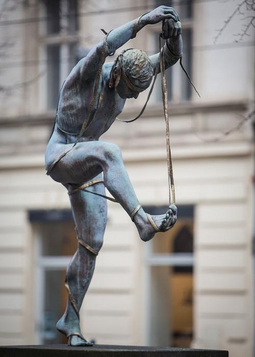 Река Нил. Автор: скульптор Анна Хроми. ¦ Фото: iloveprg.ru.