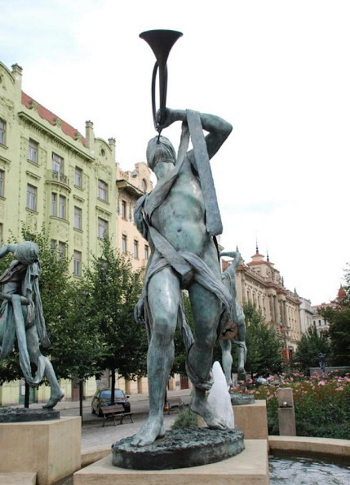 Река Миссисипи. Автор: скульптор Анна Хроми. ¦ Фото: praga-praha.ru.
