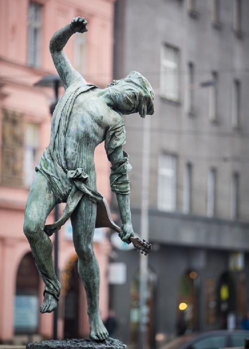 Река Ганг. Автор: скульптор Анна Хроми. ¦ Фото: iloveprg.ru.