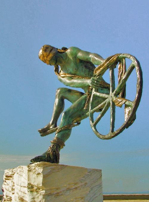 Одиссей. Автор: Скульптор Анна Хроми. ¦ Фото: mapio.net