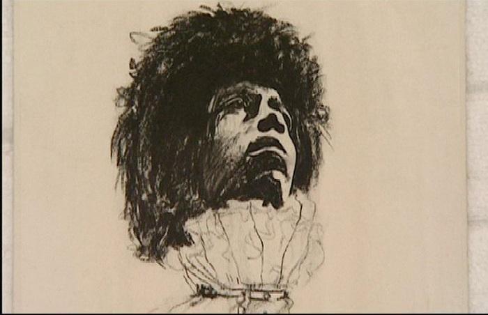 Один из кумиров Фредди того времени - легендарный Джими Хендрикс. Автор: Фредди Меркьюри. ¦ Фото: intrigan.com.