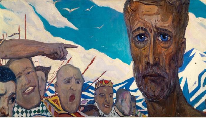 Пророк. (1960). Автор: И.С. Глазунов