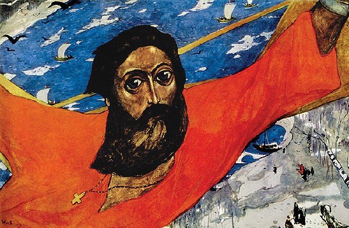 Русский Икар. (1964). Автор: И.С. Глазунов