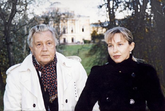 Илья Глазунов и Инесса Орлова. | Фото: glazunov.ru