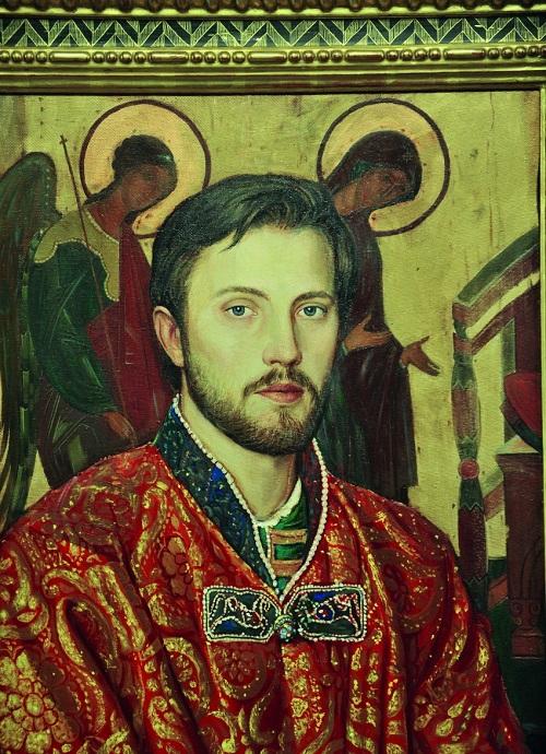 Иван Глазунов, сын художника. (1994).Автор: И.С. Глазунов
