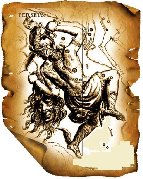 Созвездие Персея.