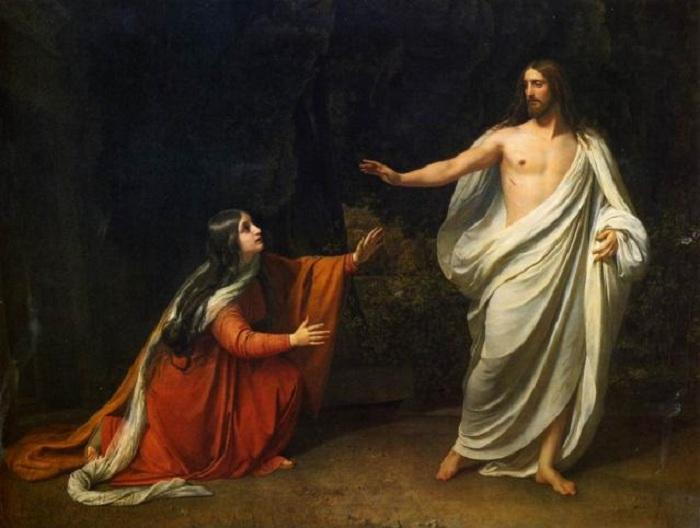«Явление Христа Марии Магдалине после Воскресения». (1835).