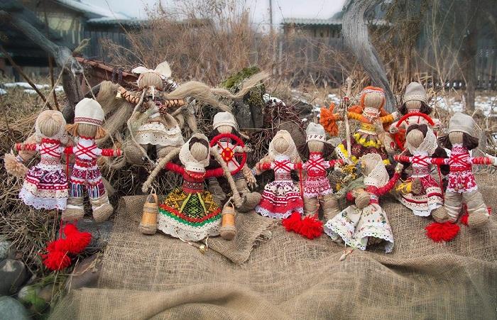Современные народные куклы-обереги от Светланы Казиной.