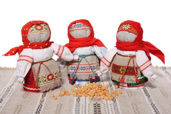 Кукла Зерновушка.
