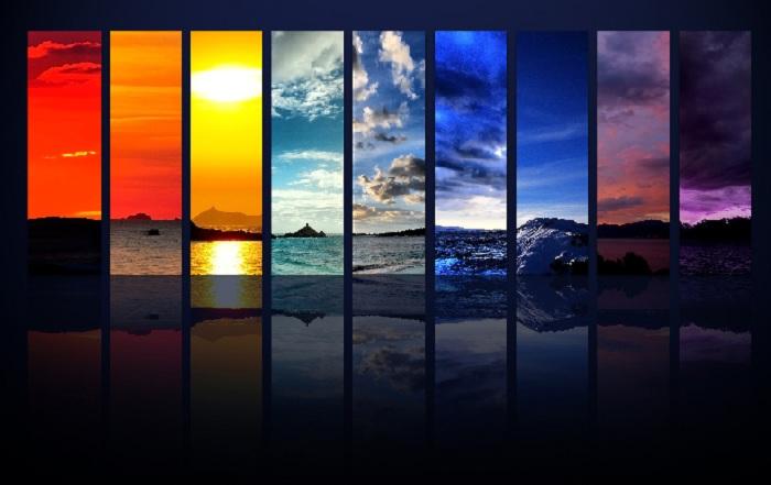 Пейзаж в спектральной цветовой гамме.| Фото: kingmed.info.