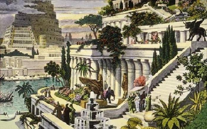 Сады Древнего Египта.| Фото: alternathistory.com