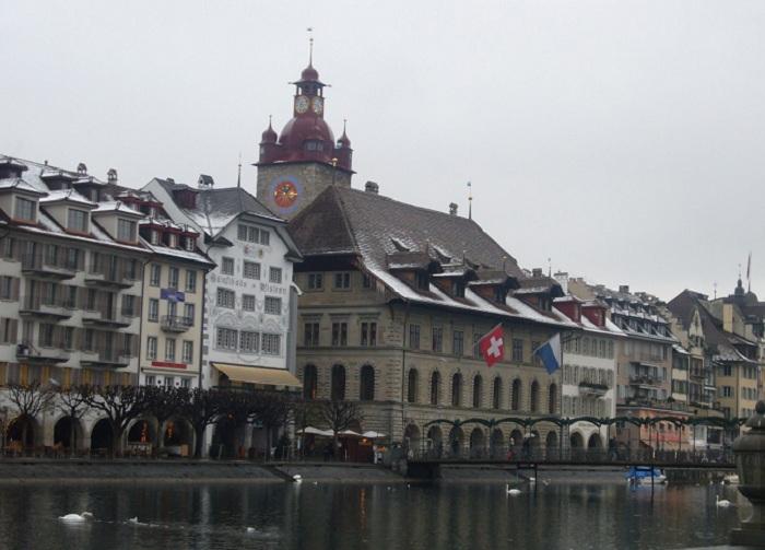 Люцерн - непризнанная столица и «сердце Швейцарии».|Фото: bsivoyage.ru.