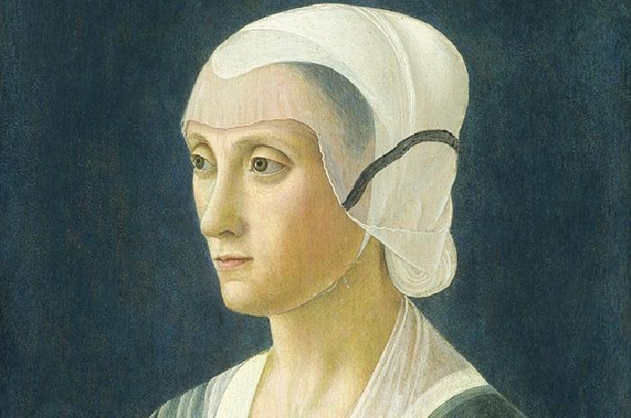 Лукреция Торнабуони – мать Лоренцо. Автор: Доменико Гирландайо