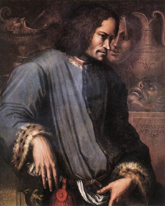 Лоренцо Медичи. Автор:Дж. Вазари.