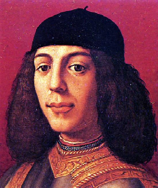 Старший сын Лоренцо - Пьеро Невезучий.