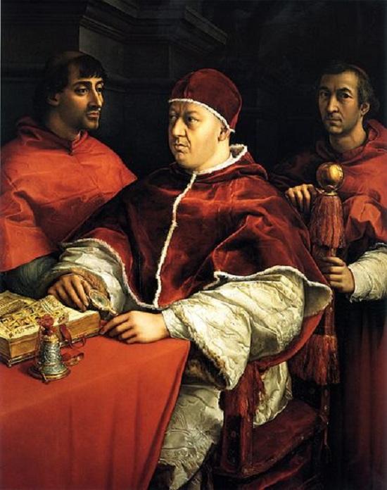 Римский папа - Лев Х. Период понтификата: с 11 марта 1513 г. по 1 декабря 1521 г.