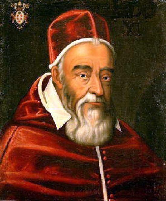 Римский папа - Лев XI. (в миру  Alessandro Ottaviano de Medici). Период понтификата: с 1 по 27 апреля 1605 года.