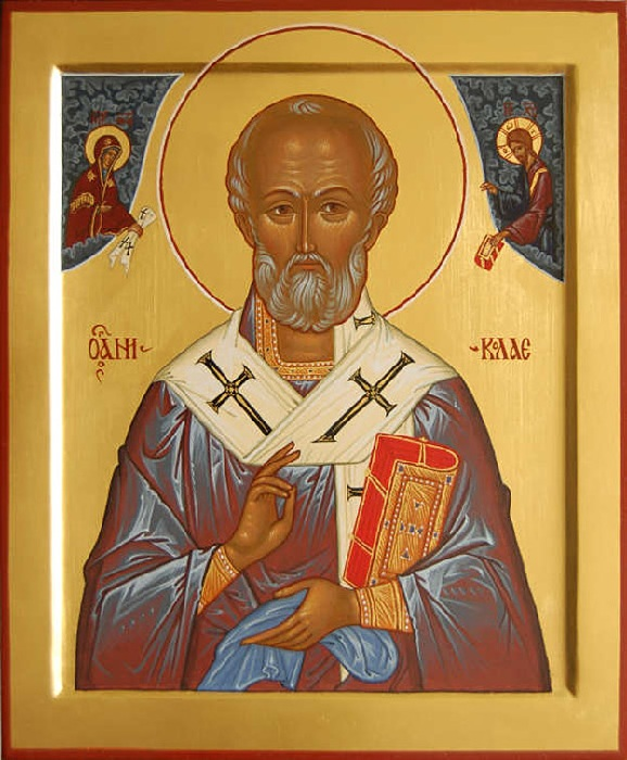 Икона Святого Николая-Угодника.