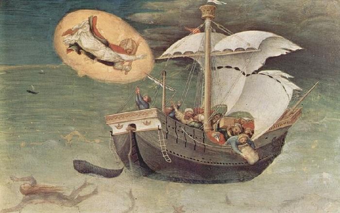 Спасение моряков (Джентиле да Фабриано, ок. 1425).