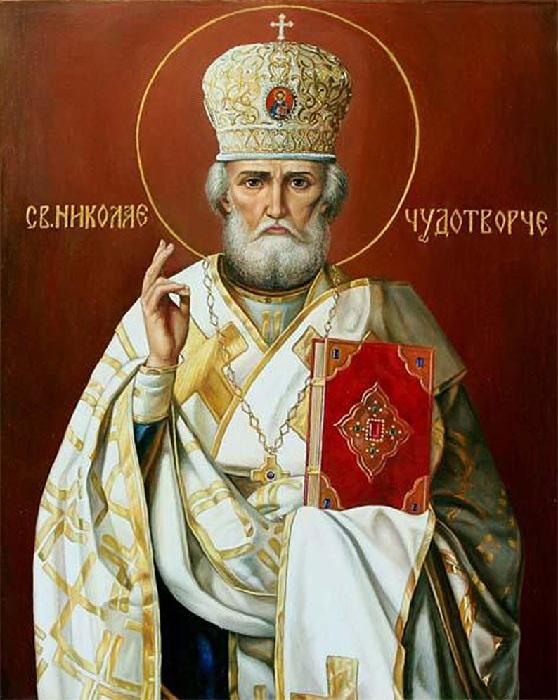 Икона Николая-угодника Чудотворца.
