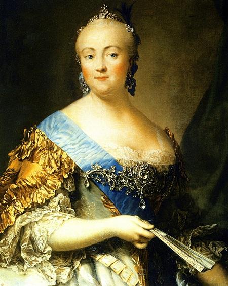 «Портрет Елизаветы Петровны». Автор: Вигилиус Эриксен