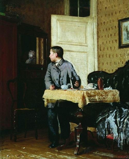 Василий Максимов. «По примеру старших». 1864 г.