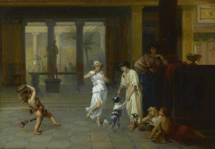 Античный концерт. Автор: Жозеф Команс.