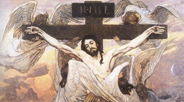 Распятие Христа. Автор: Виктор Михайлович Васнецов.
