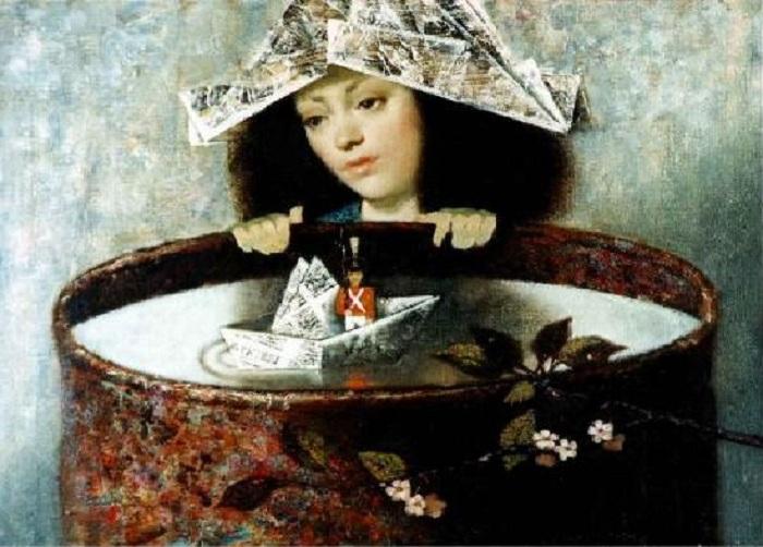 Модерн от художницы Ирины Котовой.