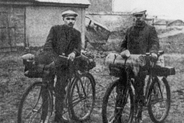 В Европу на велосипедах.