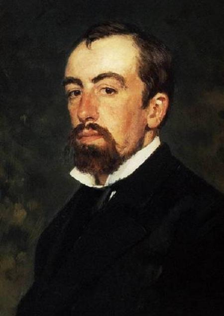 Василий Дмитриевич Поленов. Автопортрет.