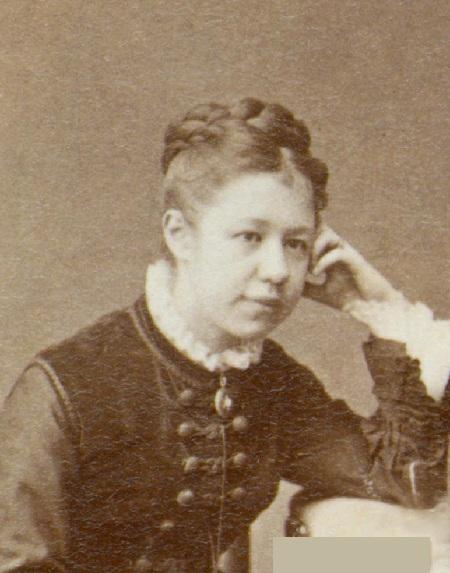 Елена Дмитриевна Поленова - сестра Василия Поленова.