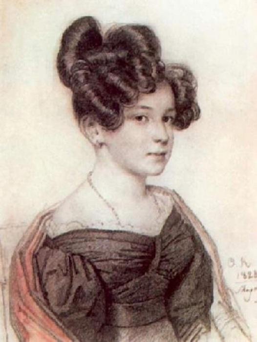 Оленина Анна Алексеевна.