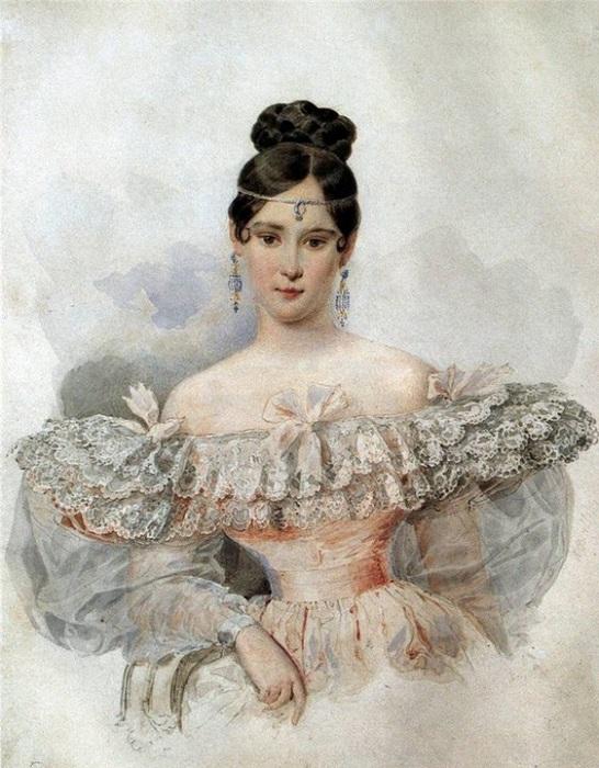 Наталья Николаевна Гончарова.