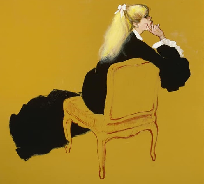 Женские образы в иллюстрациях Рене Грюо.