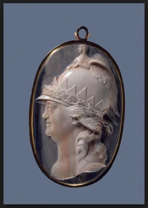 Портрет Екатерины II в образе Минервы. 1789.