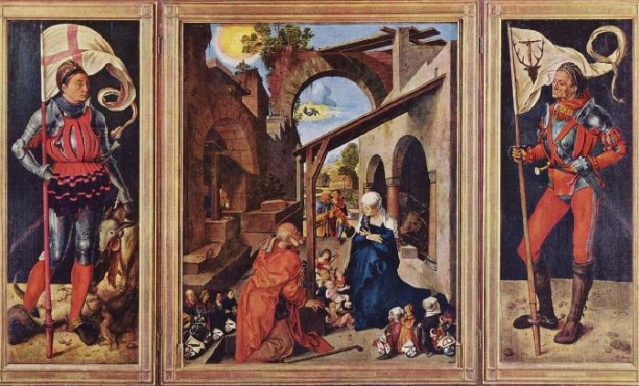 Альбрехт Дюрер.  Алтарь Паумгартнеров. 1503.