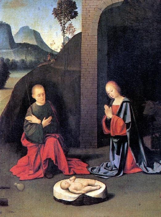 Джованни Баттиста Ортолано.  Рождество.