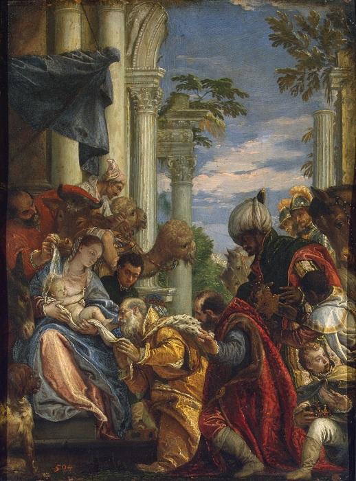 Паоло Веронезе. Поклонение волхвов 1570-е годы, Эрмитаж