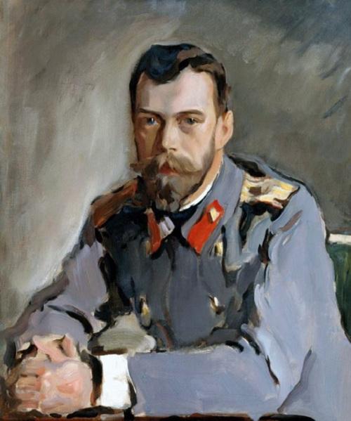 Портрет Николая II.(1900). Третьяковская галерея. Автор: Валентин Серов. | Фото: artchive.ru