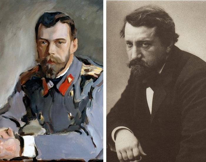 Портрет Николая II. (1900). Художник Валентин Серов.