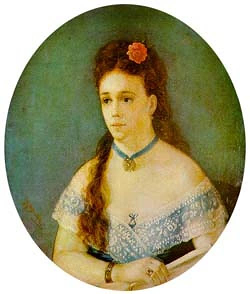 Катенька Пиунова. Автор: Т.Шевченко